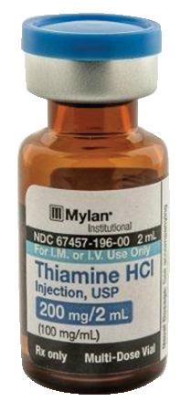 THIAMINE HYDROCHLORIDE Injection, USP (Thiamine Hydrochloride ) 200